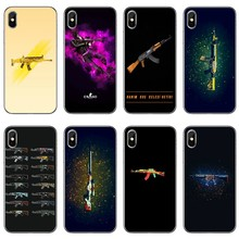 Phone Case Back Cover For Samsung Galaxy J7 J5 Prime pro J3 J2 J1 A7 A5 A3 2018 2017 2016 2015 CSGO Firearms design(China)