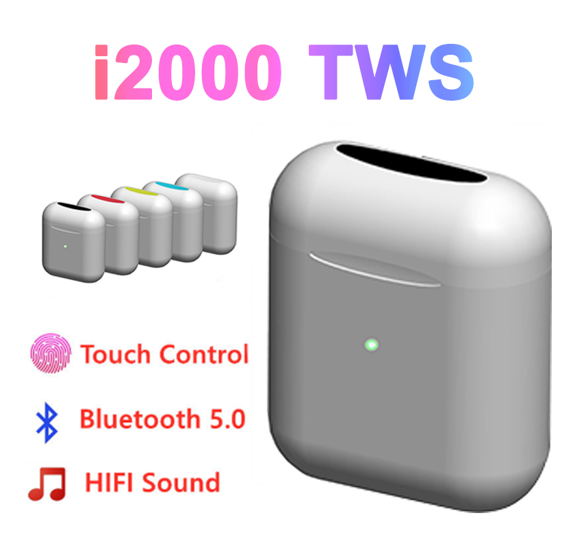 i2000 <font><b>TWS</b></font> F13 Speaker 8D Super Bass Earbuds Bluetooth Wireless Earphones PK i800 i9000 <font><b>i9999</b></font> i1000 i3000 <font><b>TWS</b></font> image
