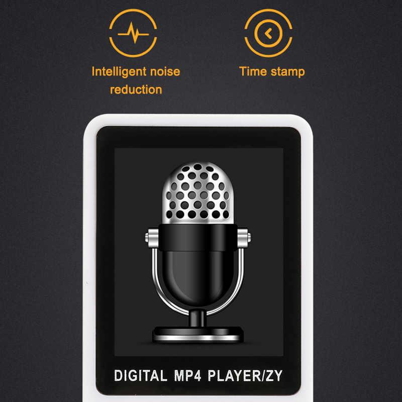 مشغل موسيقى MP3 MP4 بدون فقدان تشغيل 70 ساعة مشغل موسيقى FM بطاقة TF محمولة ND998