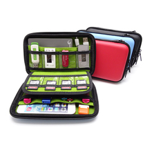Travel Digital Accessories Case Cable Organizer Bag Storage Box Electronic Gadgets USB Wires Charger Headphones Power Bank Case