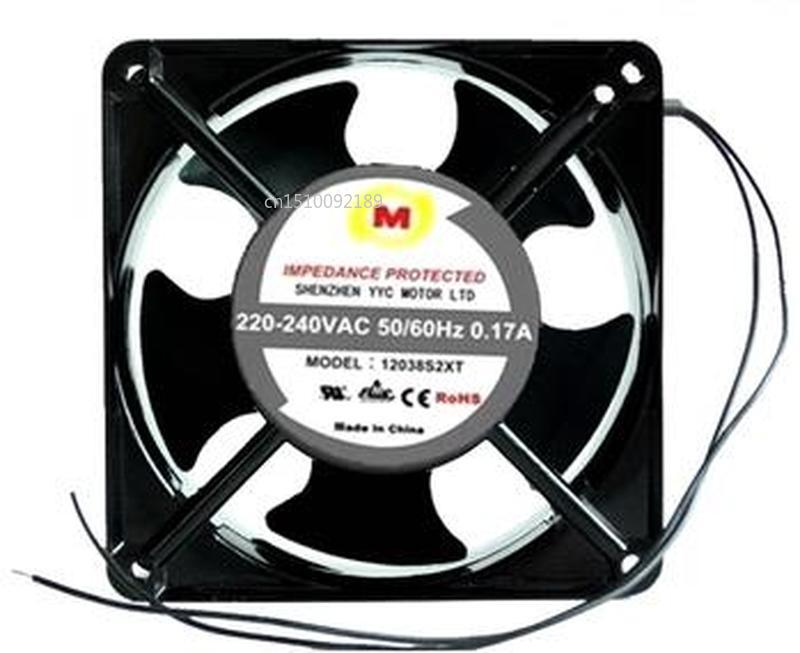 For MODEL 12038S2XT 220V-240VAC 50/60HZ 0.17 12038 Cooling Fan Free Shipping