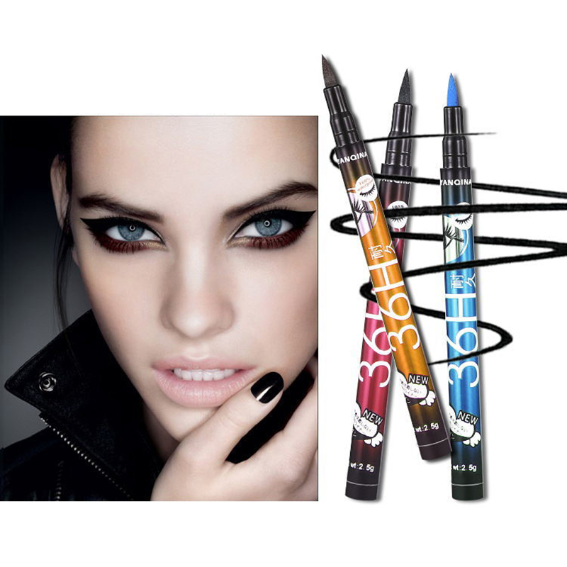 New Update Quick-drying Color Eyeliner Waterproof Durable Sweat-absorbent Eyebrow Pencil Advanced Anti-stun Eye Cosmetics TSLM2