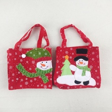 Candy Treats Bags Christmas Tote Candy Bag Stockings Gift Ho