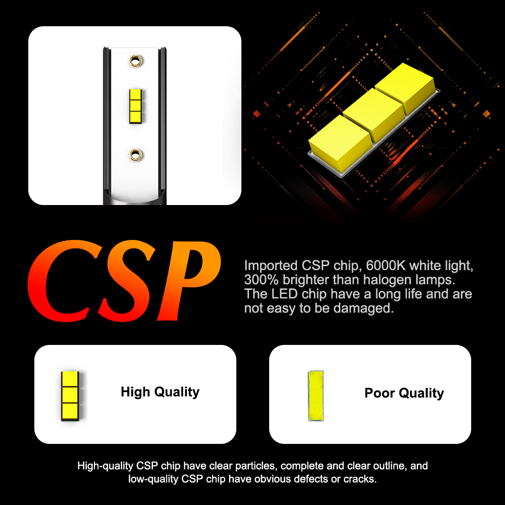 Купить 2 шт автомобильные светодиодные лампы h4 h8 h9 hb3 9005 hb4