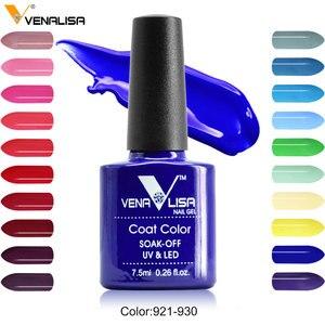 Image 2 - Гель лак для ногтей Venalisa 7,5 мл, 60 цветов, бесплатная доставка, Лидер продаж