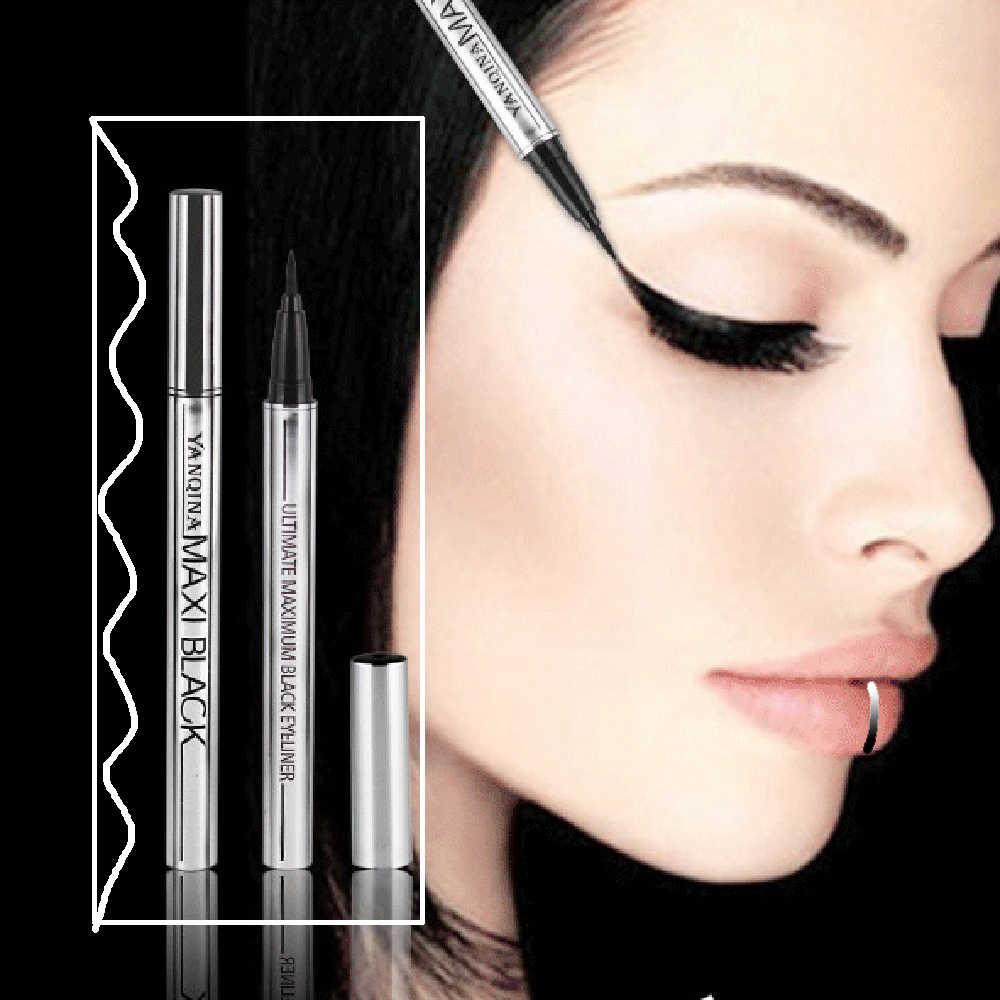 1 szt. Nowy czarny eyeliner w płynie długotrwały wodoodporny eyeliner ołówek kobiety makijaż kosmetyczne przybory kosmetyczne wysokiej jakości