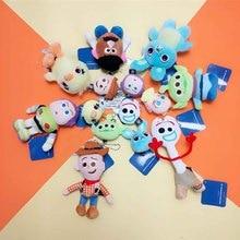 Toy 4 Figure Buzz Forky Lightyear Woody Jessie Rex Plush Toys B542