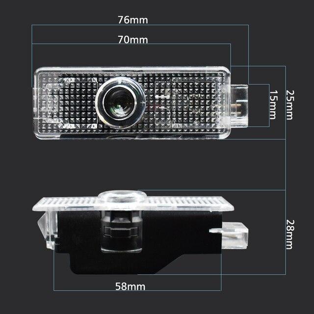 LED Voiture De Courtoisie Porte Projecteur Laser Lumière Logo Pour bmw M Performance E90 F10 F30 E60 E92 X1 X3 X4 X5 E61 E93 E63 F01 GT 528i