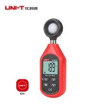 UNI T UT383BT Digital Bluetooth Luxmeter Handheld Type Light Meter Illuminometer Luminometer 10,000 Lux Data hold USB interface цена
