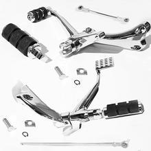 مفاصل أذرع تحكم أمامية من الكروم لـ Harley Sporster XL 883 1200 2014 2020