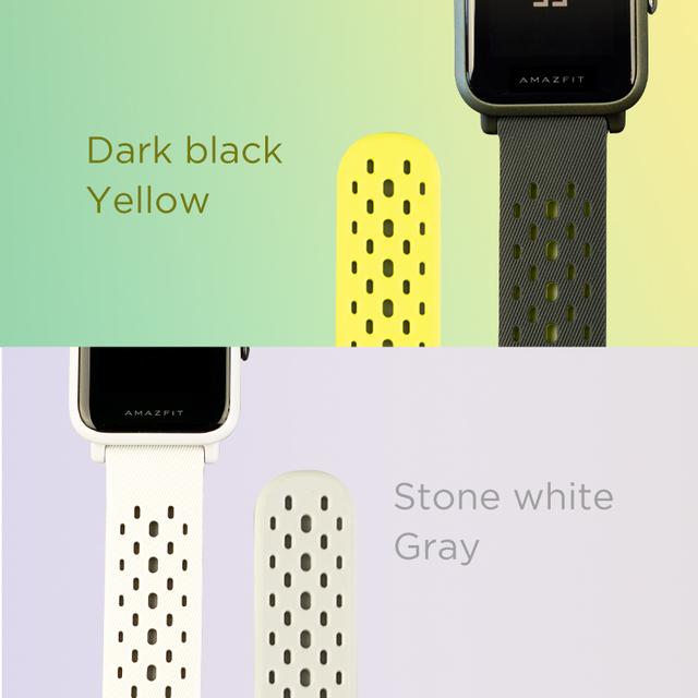 Amazfit Smart Watch Strap for GTR 42mm, Amazfit Bip/Bip Lite