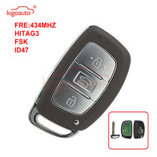 Kigoauto 3 кнопки 433 МГц чип для hyundai mistra умный пульт