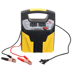 Automatic 12V/24V Car Storage Battery Charger LCD Intelligent Pulse 110/220V Repair for Lead Acid Lithium Battery 35AH-200AH(China)
