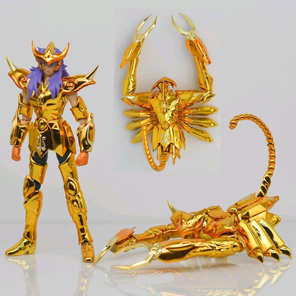 SG modèle Mini Saint tissu mythe DDP EX or Saint Milo scorpion avec objet 100mm métal armure figurine jouet D.D.P taille