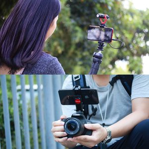 Image 3 - Ulanzi ST 06 調整可能な携帯電話ホルダーと 1/4 ネジホットシューマウントクイックリリース Vlog ビデオ撮影一眼レフカメラ用スマート電話