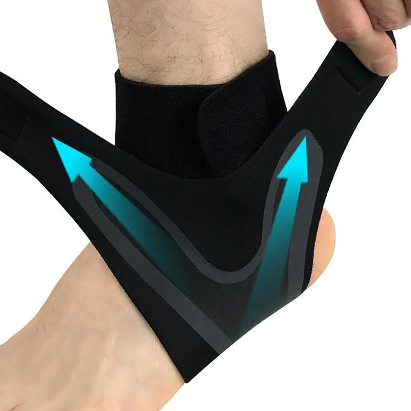 1 PC Sport Ankle Support Elastic High Protect Sports Ankle Equipment Safety Running Basketball Ankle Brace