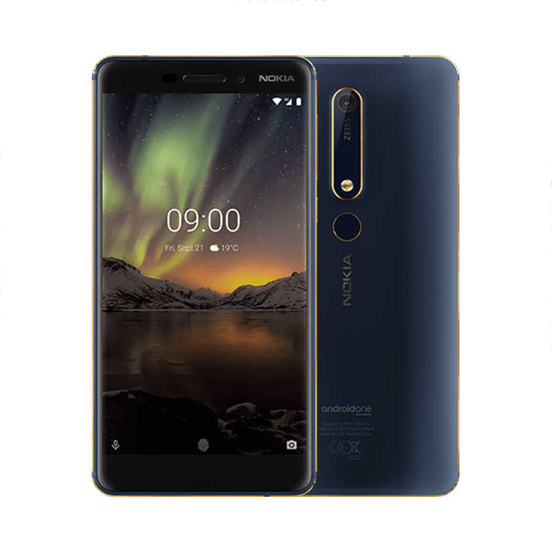 "Nokia 6.1 Version mondiale 4G Android SmartPhone 3GB 32GB Snapdragon 630 Octa core 5.5 ""16MP 8MP téléphone portable"