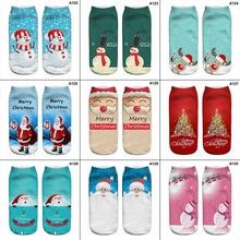 New Stylish Unisex Mens Womens Christmas Socks Santa Snowman Snowflake Socks Filler Hosiery 20 Style Sock