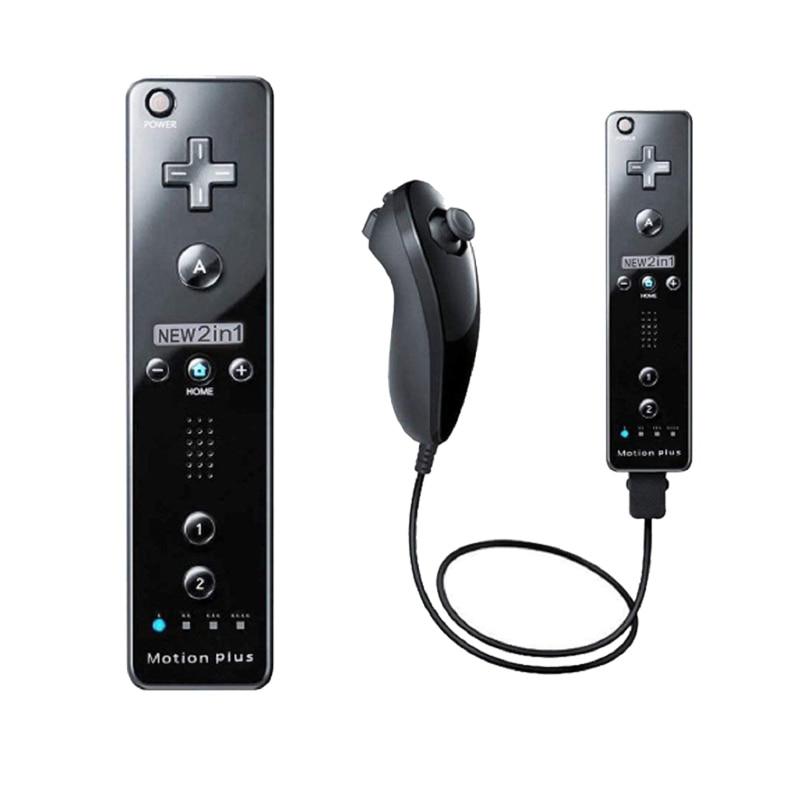 Беспроводной пульт дистанционного управления геймпад для Nintendo Wii Nunchuck для Nintendo Wii Пульт дистанционного управления Джойстик дополнительно ...