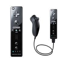 Controlador de gamepad remoto sem fio para nintend wii nunchuck para nintend wii controle remoto joystick movimento opcional mais