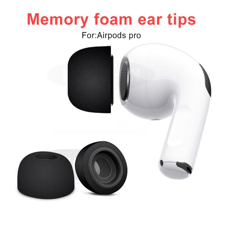 Sponge Silicone Memory Foam Ear Tips For Apple Airpods Pro Headphones Accessories Replacement Earphone Ear Pads For AirPods 3