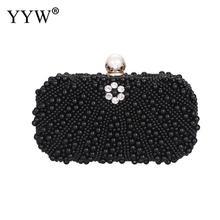 цены Gold Pearl Evening Party Bag Diamonds Wedding Purse And Handbag Luxury Handbags Women Bags Designer Rhinestone Sac Silver Mini