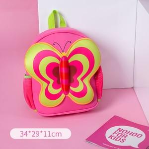 Image 2 - NOHOO Waterproof Children School Bags Cartoon Butterfly Toddler School Backpacks For Teenage Girls Pre School Bag Kids Backpack