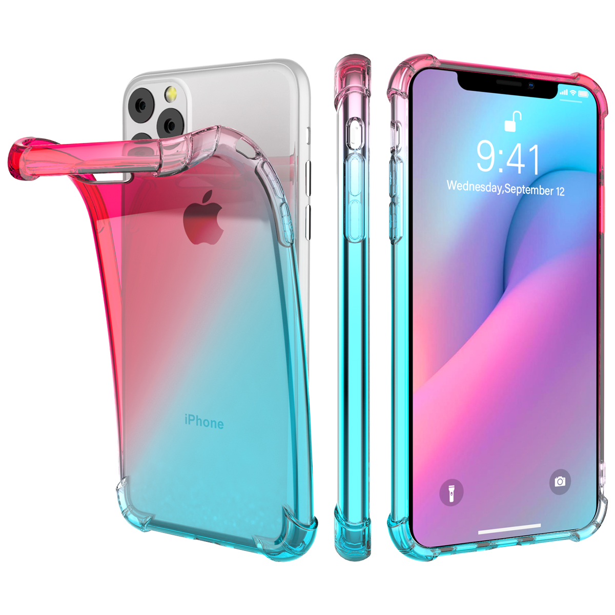 Gradient Soft TPU Case for iPhone 11/11 Pro/11 Pro Max 11