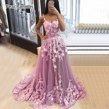 Custom Made Sleeveless Formal Evening Dresses Handmade Flowers Sexy Party Gowns 2019 New