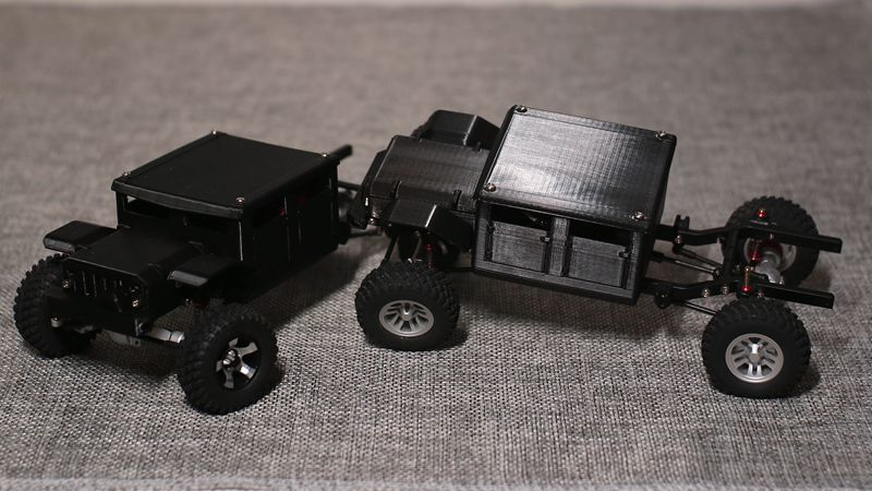 RC Crawler GK24  Climbing Car Shell 3D Printed Car Shell