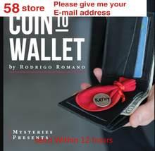 2020 coin to wallet por rodrigo romano, instrução mágica, truque mágico