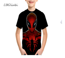 LBG New Spider-Man T-shirt 3D Print T-Shirt Fashion Childrens Casual Short Sleeve Outdoor Sports