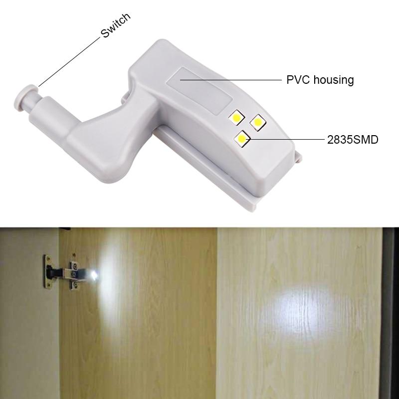 5pcs LED Cabinet Light Motion Sensor Under Cabinet Lights For Kitchen Bedroom Wireless Wardrobe Closet Light Night Lamp