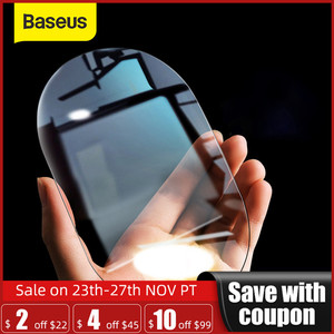 Baseus 2Pcs 0.15mm Car Rearview Mirror Protective Films Anti Fog Window Foils Waterproof Rainproof Protective Car Sticker