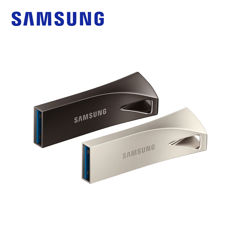 SAMSUNG BAR Plus USB Flash Drive usb 3.1 32GB 64GB 128GB 256GB Pen Drives 4K Metal Pen Drive Memory Stick Storage Device for PC image