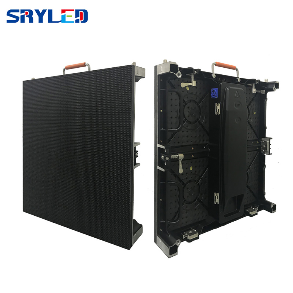 P4.81 Indoor Led Video Wall Panel Rental Led Cabinet 500x500mm For Advertising