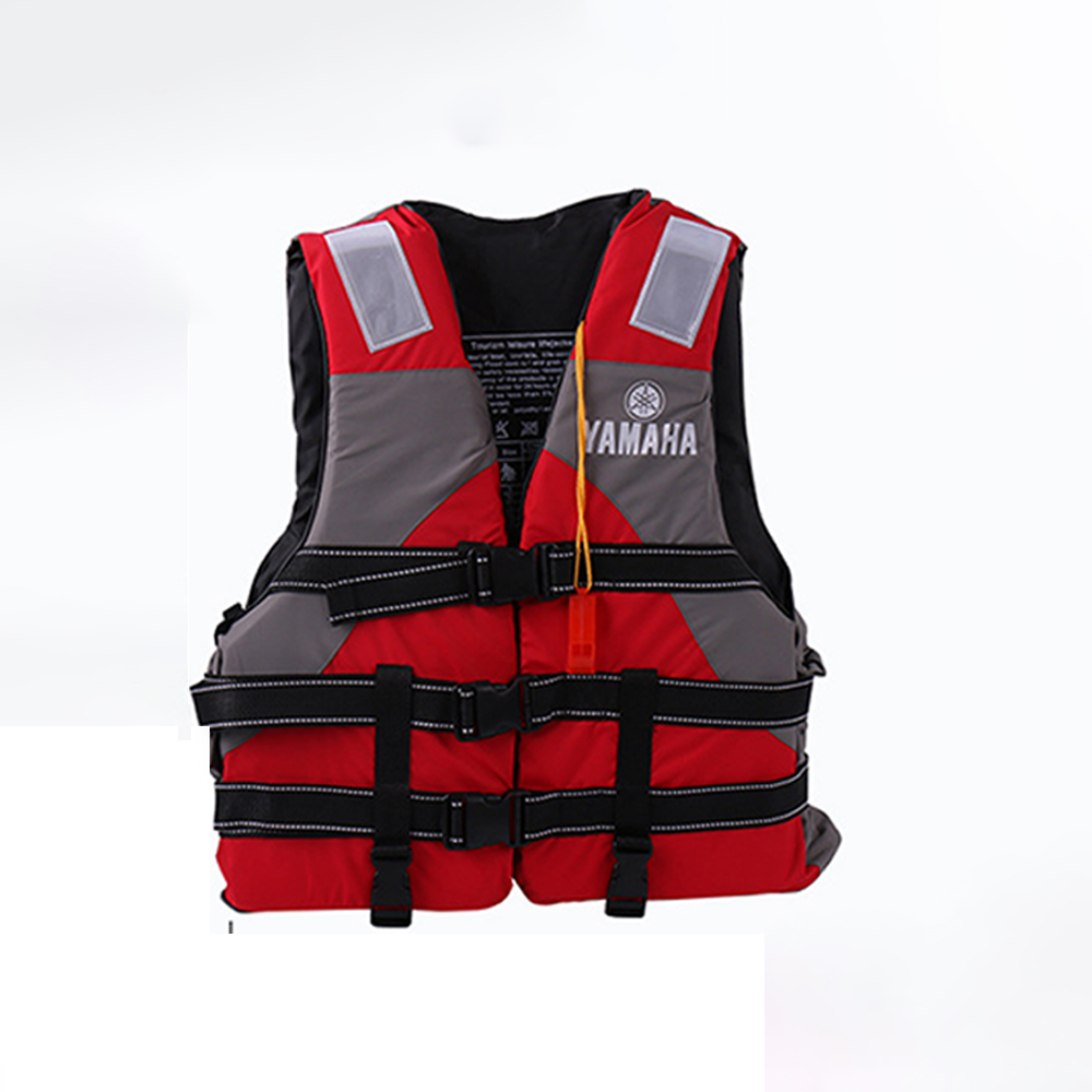 Hot sell life vest Outdoor rafting yamaha life jacket for swimming snorkeling wear fishing Professional drifting child adult 1