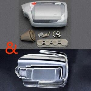 Image 1 - M5 Ốp Lưng Xe Ô Tô Điều Khiển từ xa Báo Động Phiên Bản Tiếng Nga Móc Khóa Cho Scher Khan Magicar 5 Màn Hình LCD 2 Cách Điều Khiển từ xa Magicar 6 Ốp lưng