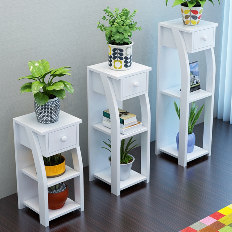 A Rack Balcony Green Luo Woodiness Landing Type Flower Airs Multi-storey The Shelf Is Full Of Meat Flowerpot Frame Household