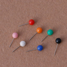 50 stks/set Nieuwe Kantoor Punaises Push Pins Metalen Pin Kantoor & School Supplies Kurk Muur Nagels Foto Muur Studs(China)