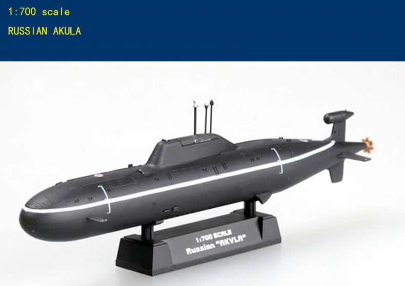 проекта 971 《Щука》 /Project 971 《Pike》/Akula Class Nuclear Submarine Finished Model Collection Submarine Model 1/700 Scale