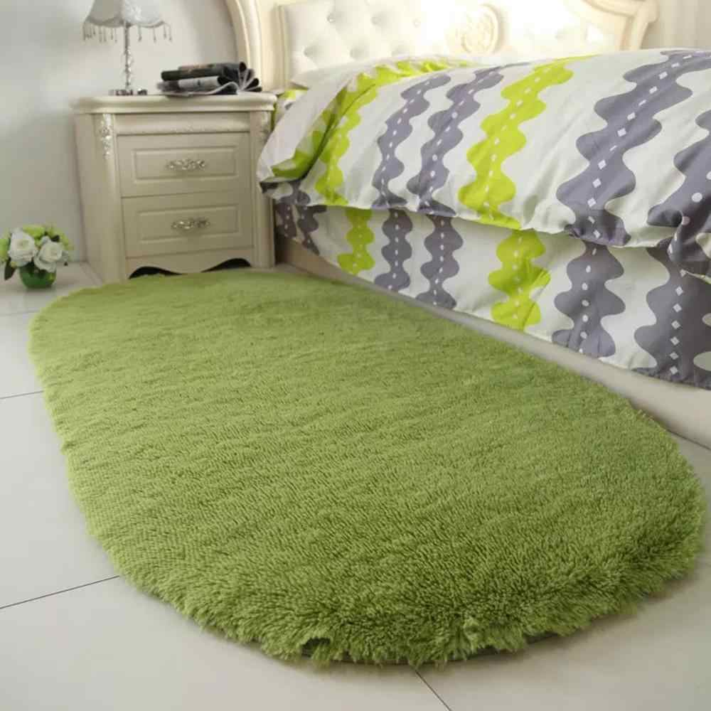 Domu pokój dzienny/sypialnia puszysty dywan przeciwpoślizgowe miękkie 40x60 cm dywan jadalnia mata do pokoju Purpule biały różowy szary 8 kolor