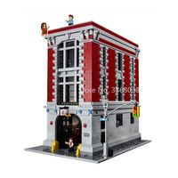 In Stock Street View Haunted House 10228 Ghostbusters Firehouse 75827 16001 Building Blocks 4705Pcs Creator Expert Construction