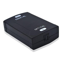 Цифровой оптический преобразователь Toslink в коаксиальный аудио преобразователь оптический вход в коаксиальный цифровой аудиовыход с DVD PS4 ...