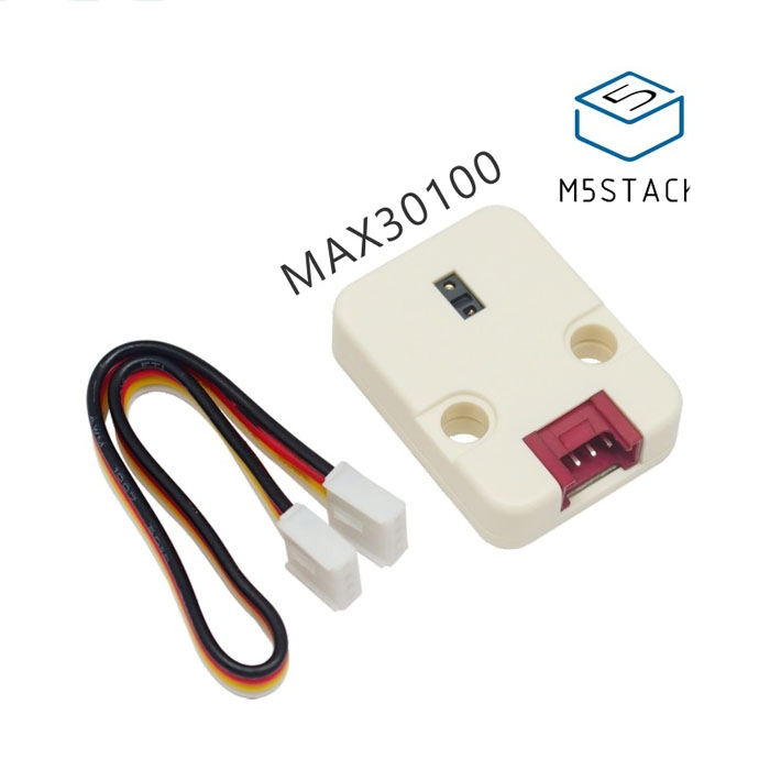 M5Stack Heart Rate Heart Rate Oximeter Sensor Module Unit MAX30100 I2C