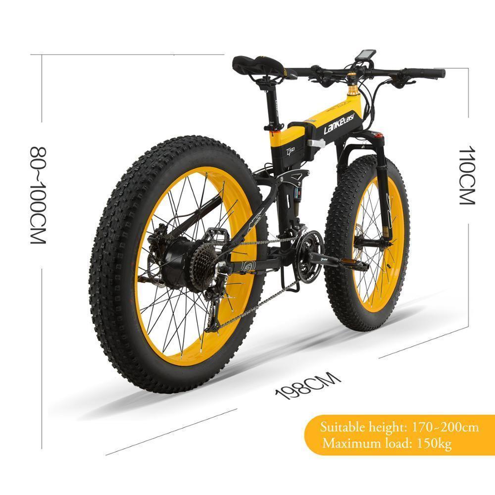 2019 XT750Plus hot sale fat tire electric bike 26 inch china ebikeFat tire folding e bike 1000W Max load 150Kg 5