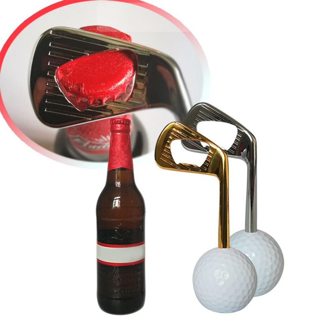 Novelty Golf Ball Bottle Opener Golfer Beer Cap Breaker Birthday Gift For Golf Lovers Enthusiasts