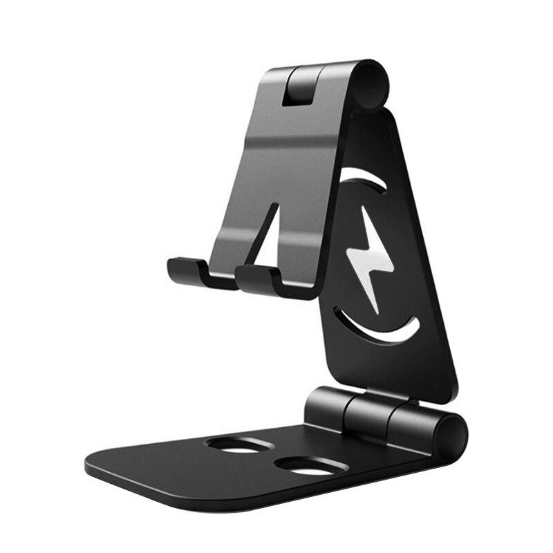 Портативный держатель для мобильного телефона, регулируемая подставка для смартфона, подставка для планшета для IPhone, настольный держатель ...