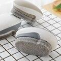 Multi Zweck Pinsel Reinigung Kreative Gebogene Einfache Praktische Badezimmer Boden Wand Fliesen Reinigung Pinsel Schwamm Unten Küche 6Pcs-in Reinigungsbürsten aus Heim und Garten bei
