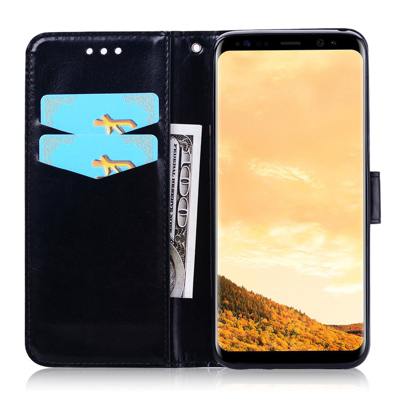 A10 A20 A30 A40 A50 Leather Wallet Flip Case For Samsung Galaxy S8 S9 S10 J3